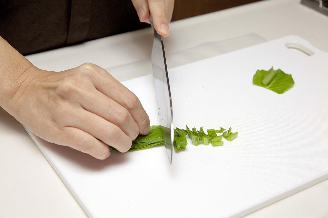 小松菜カット